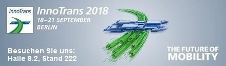 InnoTrans 2018, Berlin, 18.-21. September