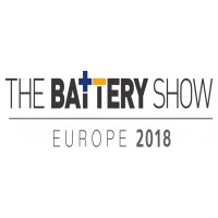 DOW AAS ist vertreten bei 'The Battery Show Europe 2018', 15.-17. Mai